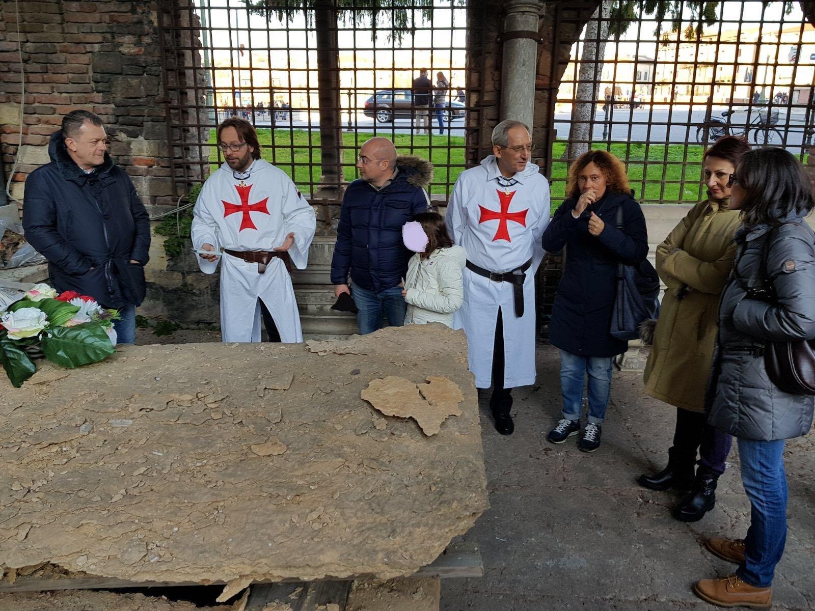 Templari Cattolici d'Italia assessore regionale Veneto Coletto in San Fermo a Verona