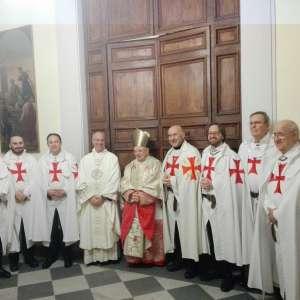 S. Eminenza Card. Francesco Monterisi al Santuario di Santa Maria in Portico in Campitelli