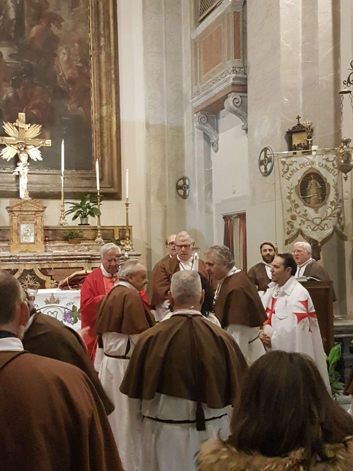 anno 2018- Sant'Agata in Trastevere con i Templari Cattolici foto2