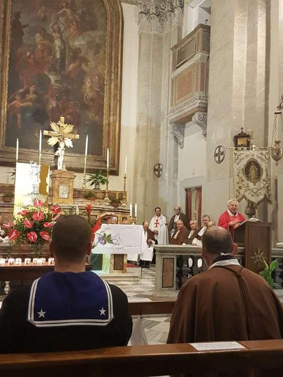 anno 2018- Sant'Agata in Trastevere con i Templari Cattolici foto1