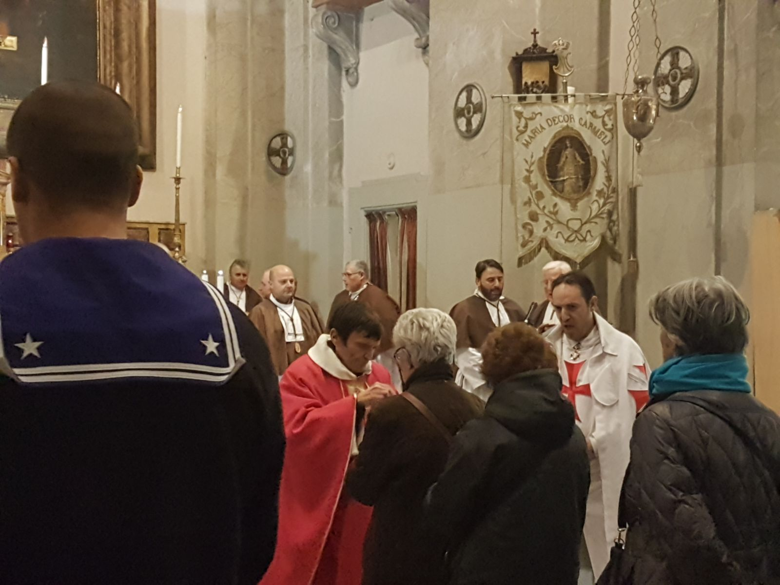 anno 2018- Sant'Agata in Trastevere con i Templari Cattolici foto3