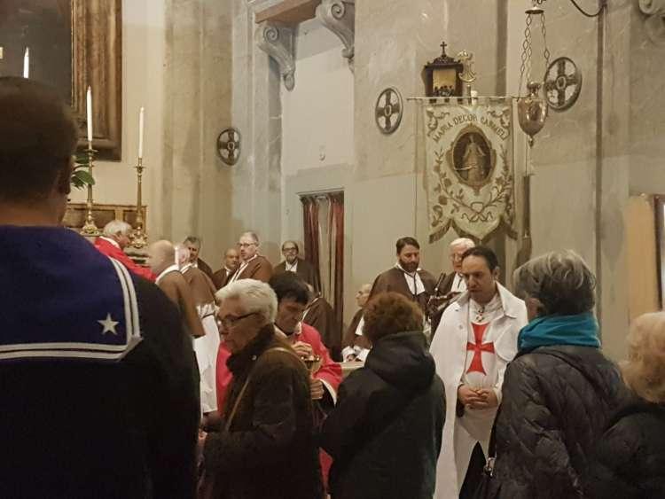 anno 2018- Sant'Agata in Trastevere con i Templari Cattolici foto4