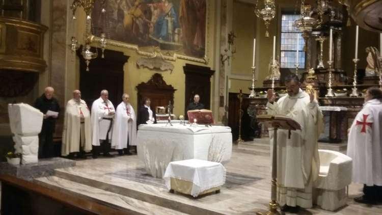Cornaredo - Chiesa SS. Giacomo e Filippo - Templari Cattolici foto2
