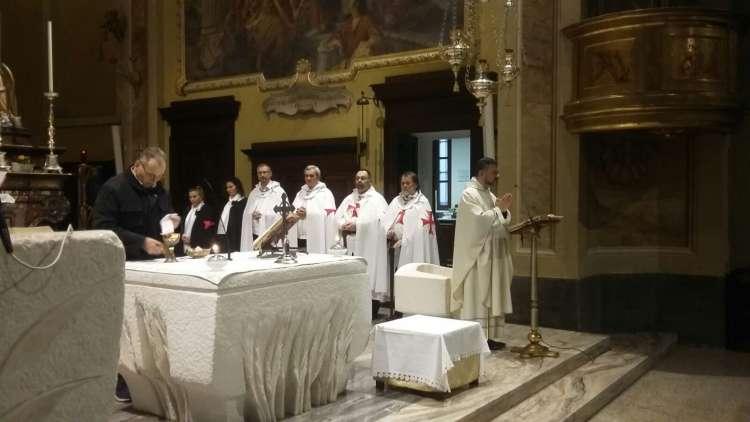 Cornaredo - Chiesa SS. Giacomo e Filippo - Templari Cattolici foto3