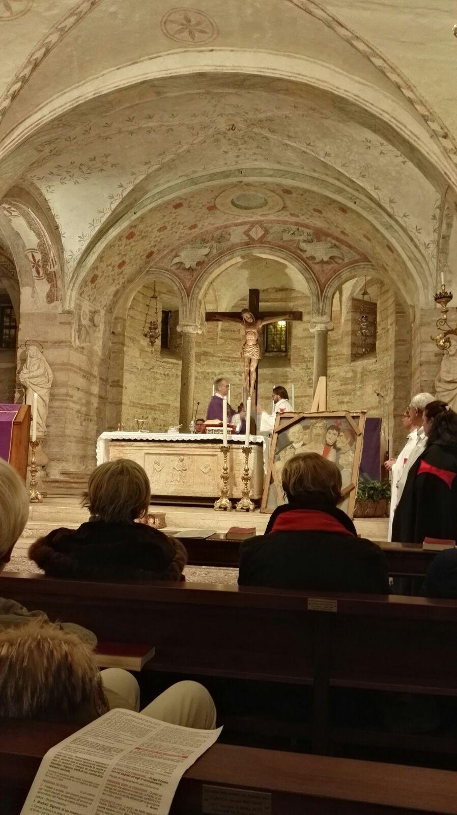 Verona Templari Cattolici d'Italia chiesa di San Fermo inizio quaresima