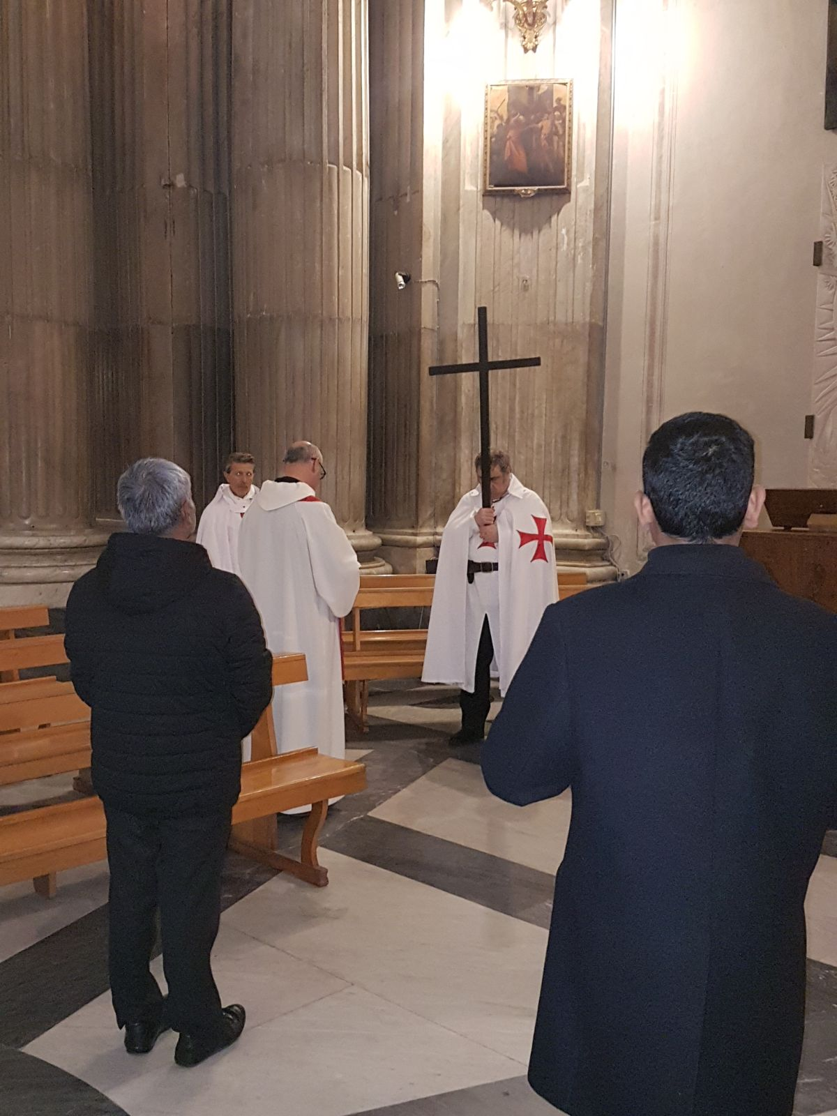 16feb2018 - Basilica di Santa Maria in Portico in Campitelli - Via Crucis - Templari Cattolici - foto 3