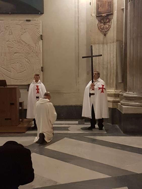 16feb2018 – Basilica di Santa Maria in Portico in Campitelli – Via Crucis – Templari Cattolici – foto 1