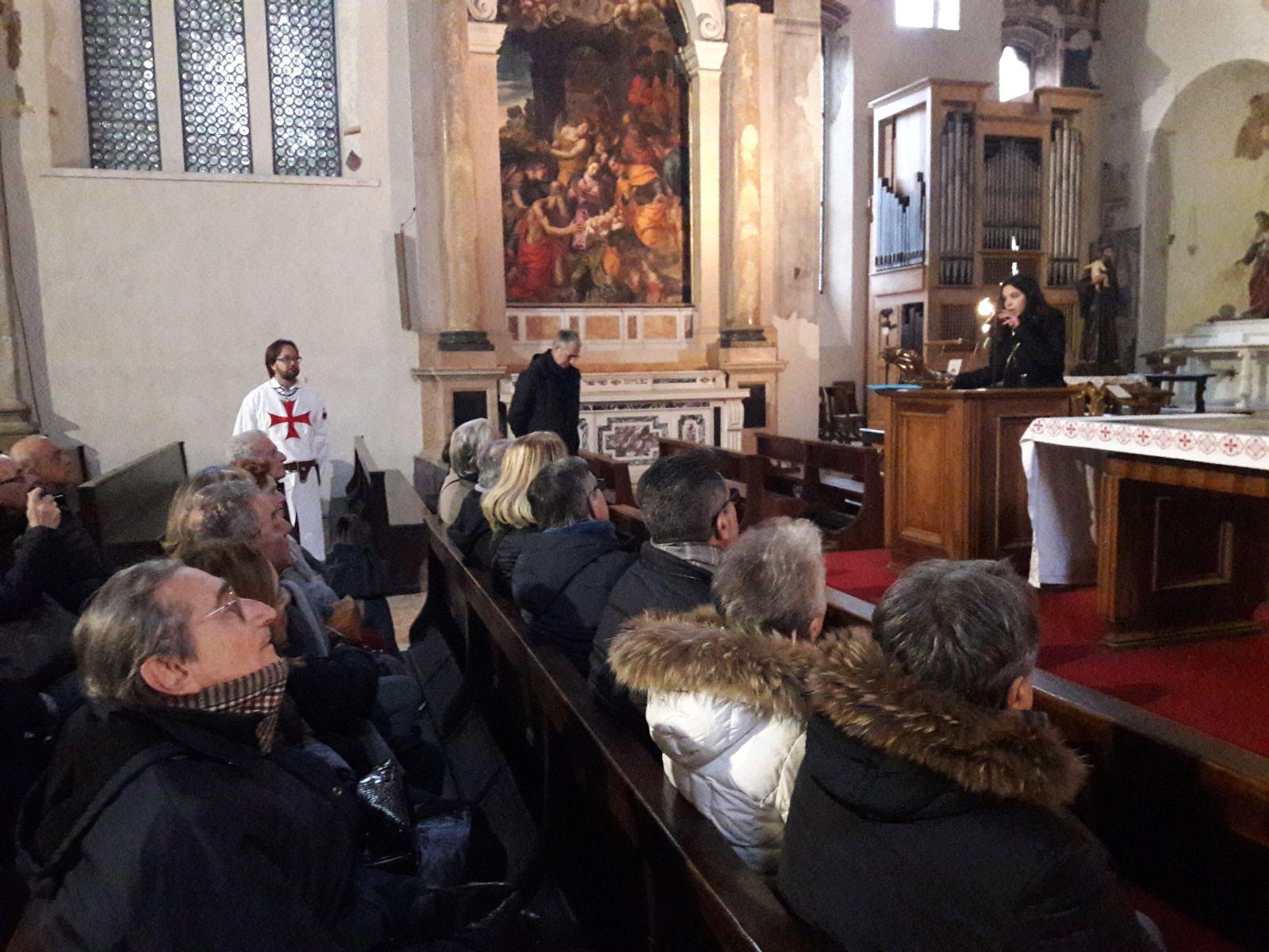 Templari Cattolici d'Italia in San Fermo a Verona con federmanager