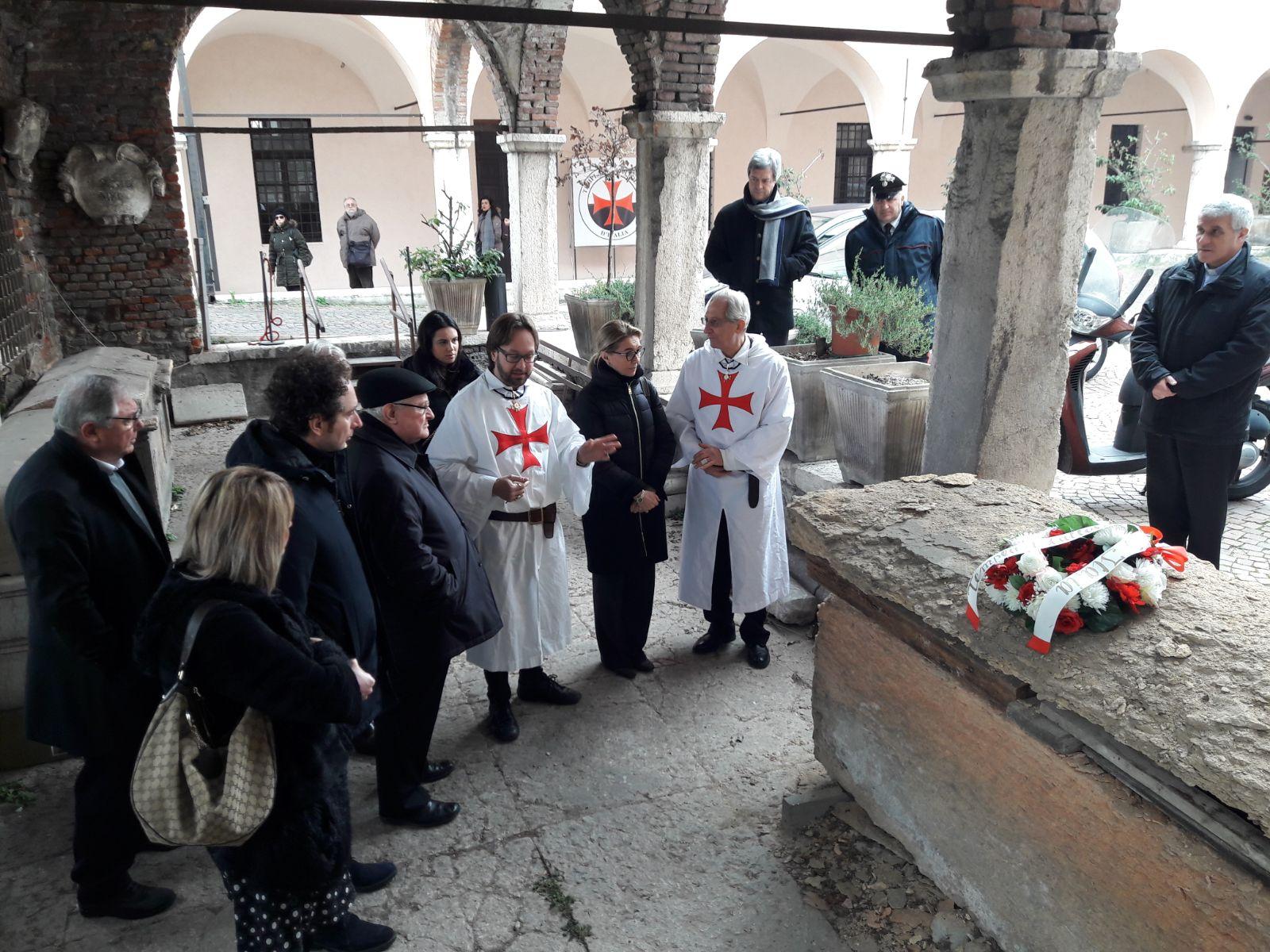 Visita alla Chiesa dei Santi Fermo e Rustico di S.E. Il Vescovo di Verona Mons. Giuseppe Zenti e di tutte le autorità provinciali Civili e Militari