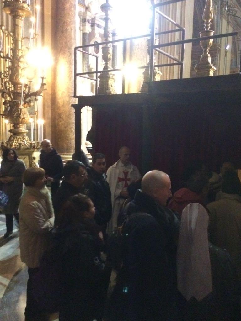 Roma Basilica dei Santi XII Apostoli - Templari foto8