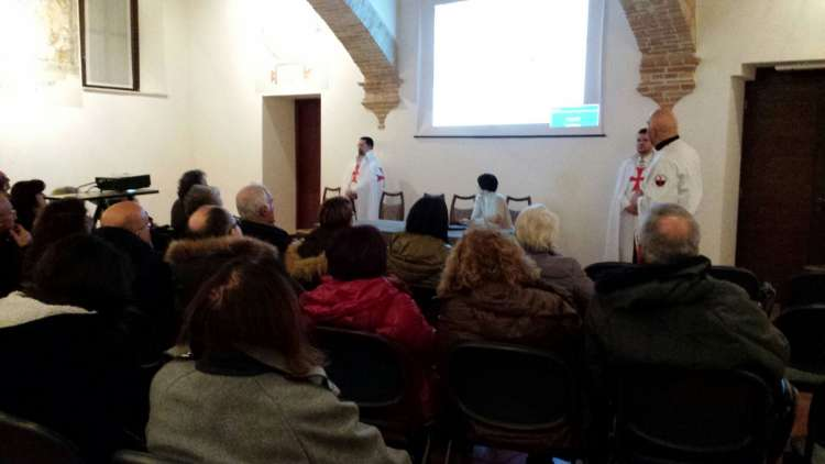 """I Templari Cattolici d'Italia propongono la conferenza """"La Sacra Sindone ed i Templari"""" a Cividale"""