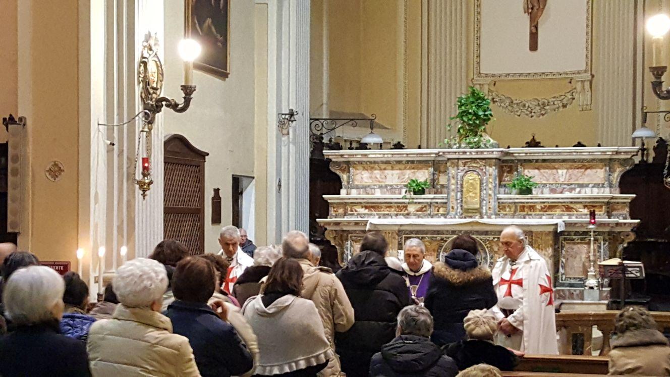 Fidenza - Chiesa di San Paolo Apostolo - templari foto4