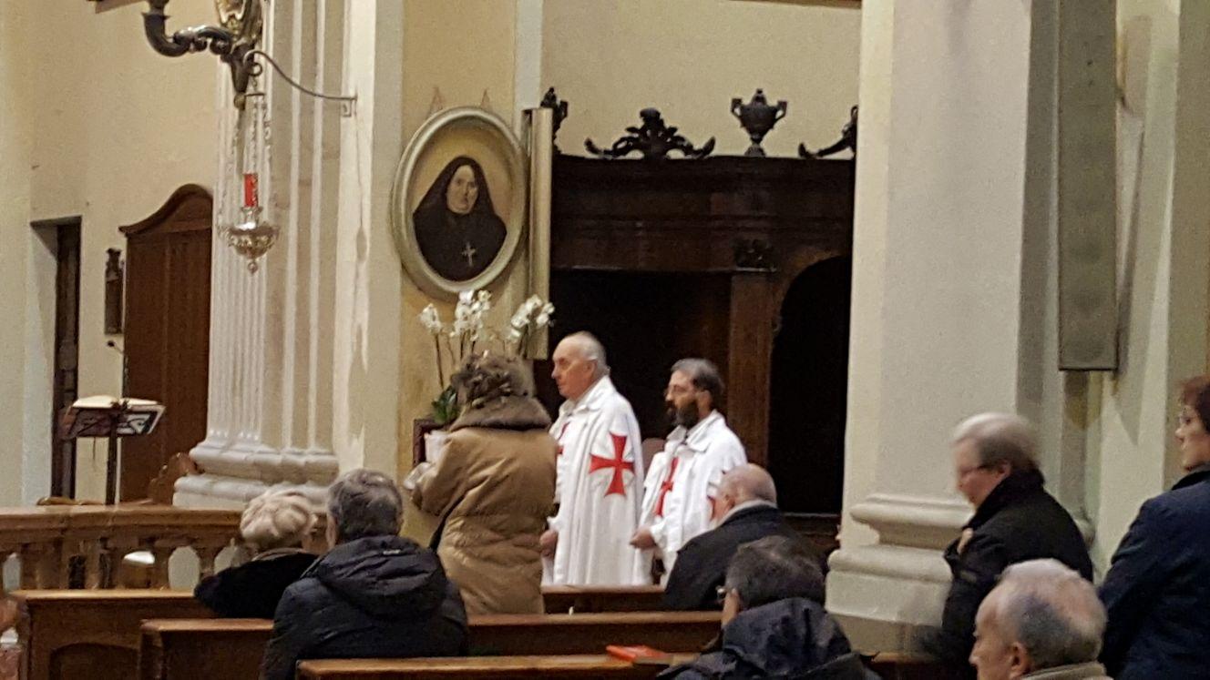 Fidenza - Chiesa di San Paolo Apostolo - templari foto6