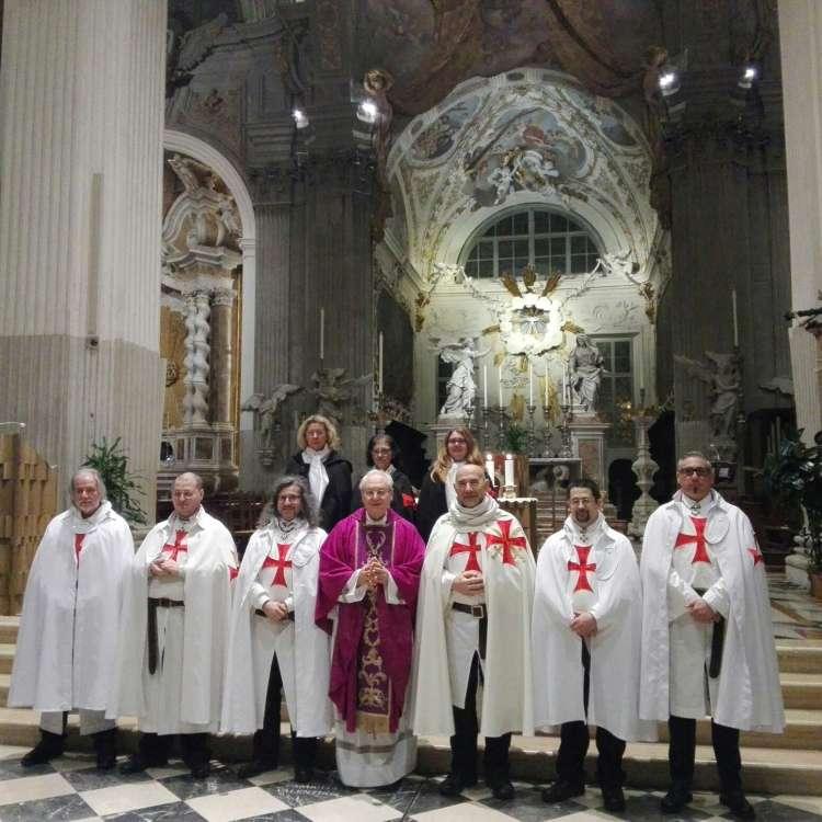 """I Templari Cattolici d'Italia propongono la conferenza """"I Templari di Ieri e di Oggi"""" a Udine, a seguire Santa Messa nella cattedrale."""