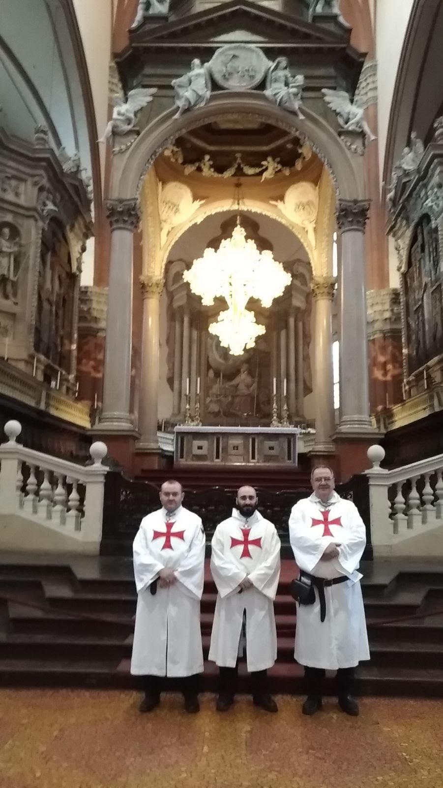 Bologna-Basilica di San Petronio 10-11 marzo 2018 Templari foto 3