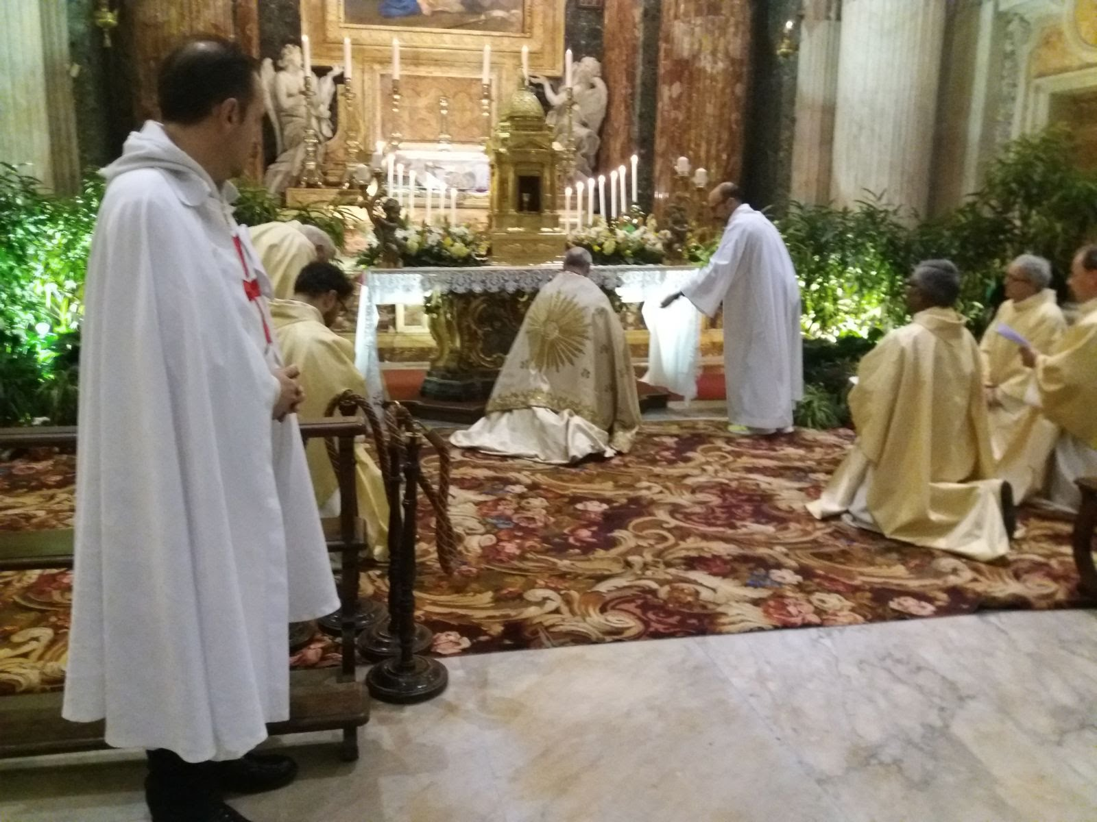 templari giovedi santo 2018 roma
