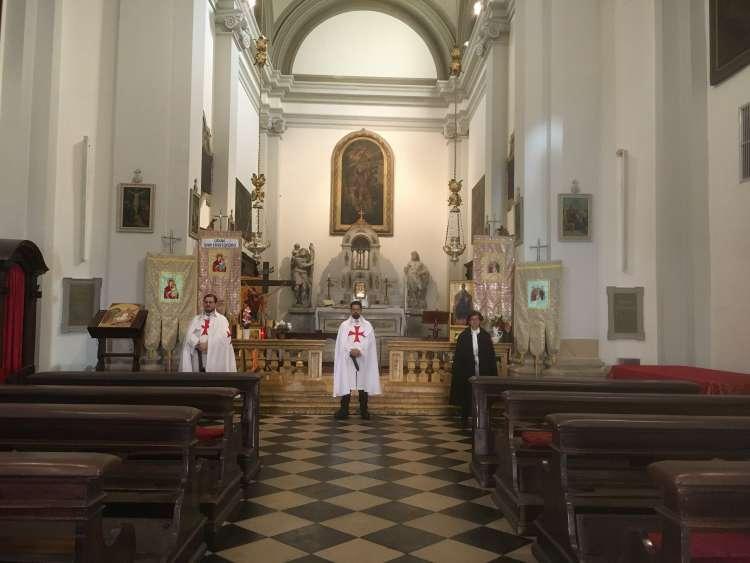 I Templari Cattolici d'Italia aprono la chiesa di San Cristoforo a Udine