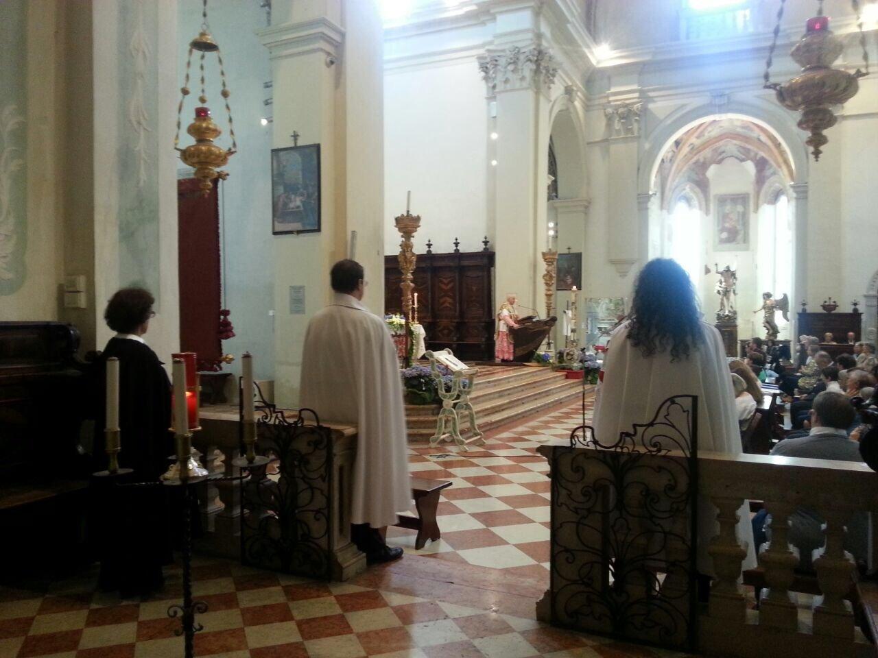 I Templari Cattolici d'Italia partecipano alla solennità dell'Ascensione a Pordenone.