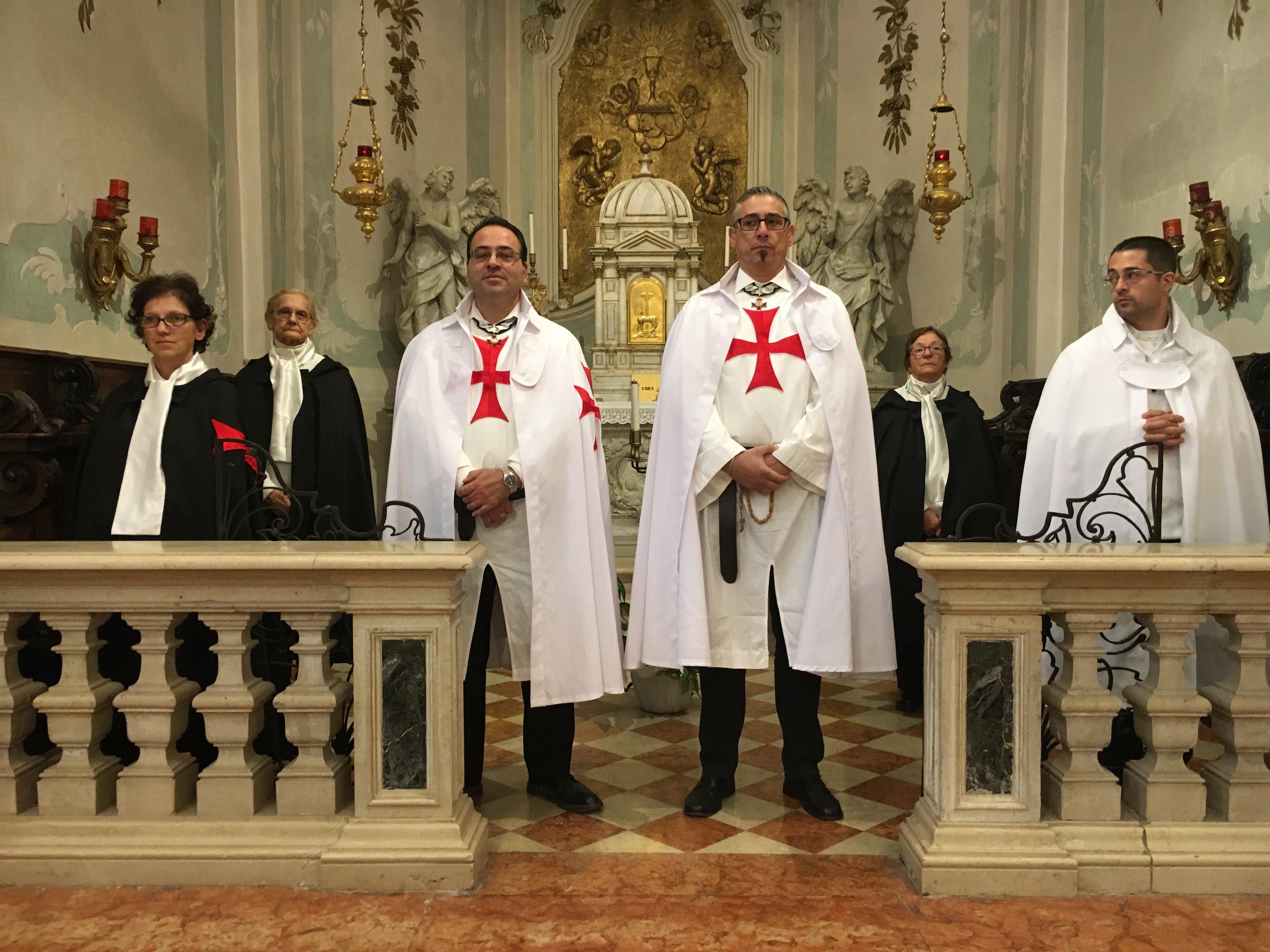 I Templari Cattolici d'Italia partecipano alla chiusura della Porta Santa a Pordenone