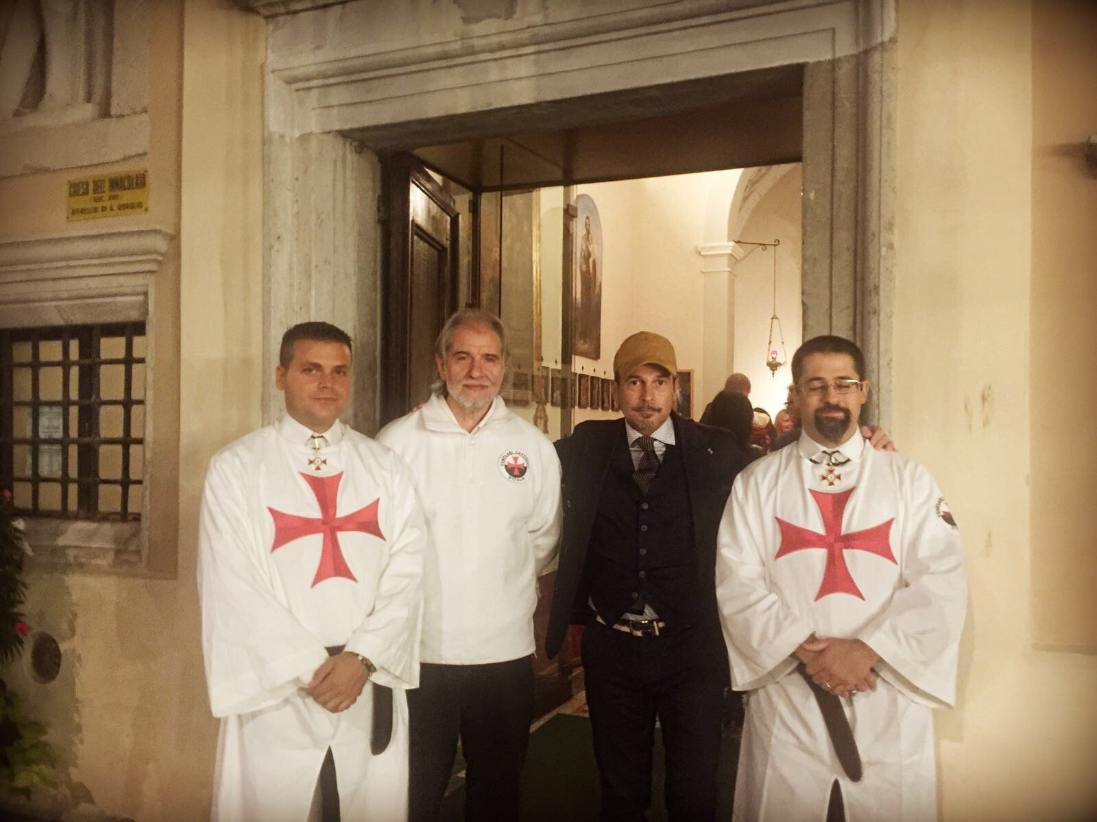 I Templari Cattolici d'Italia in occasione del Friuli Doc aprono la chiesa dell'immacolata a Gorizia.