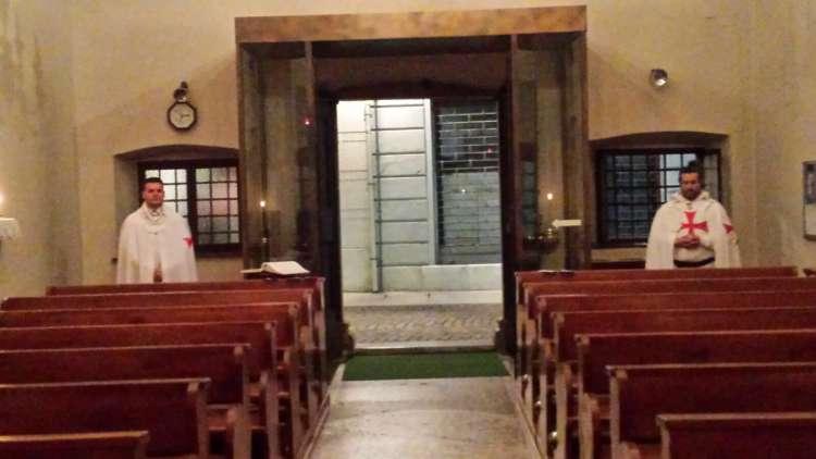 I Templari Cattolici d'Italia aprono la chiesa dell'Immacolata come Servizio ordinario a Gorizia.