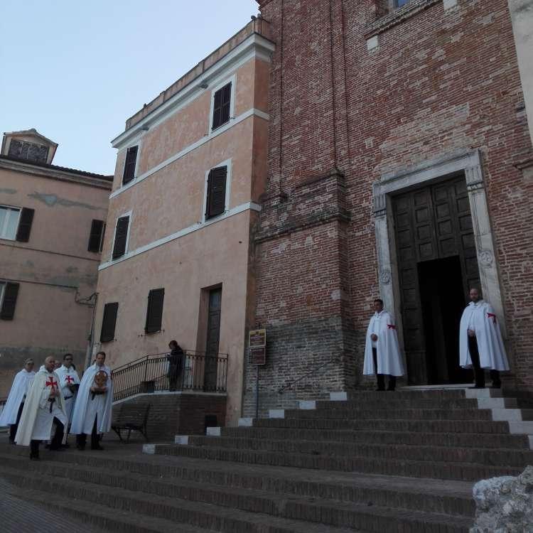 I Templari Cattolici d'Italia partecipano alla Santa Messa in occasione dell'Annunciazione di Maria Vergine ad Ancona