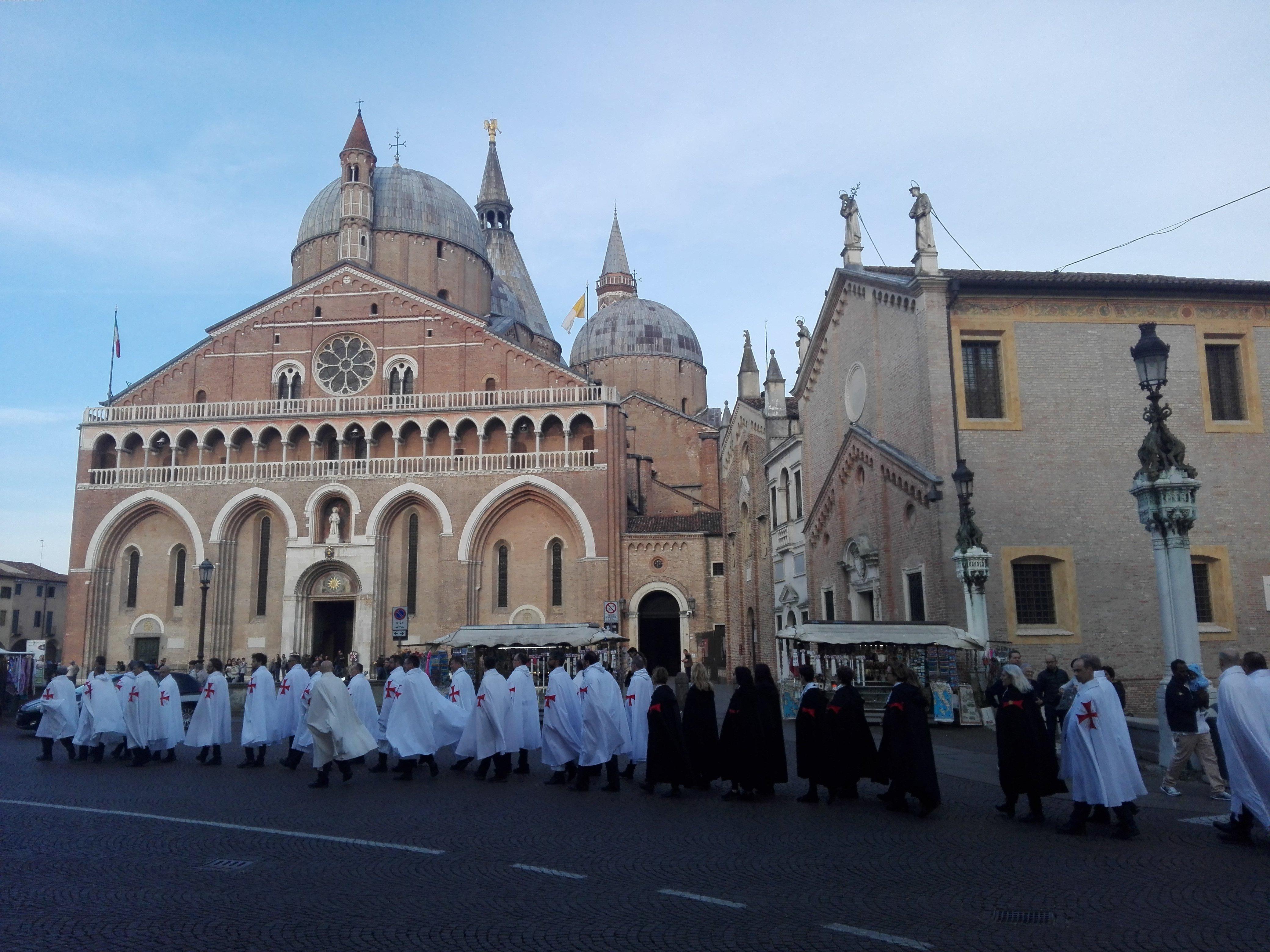 Templari Cattolici d'Italia, Camminata Silenziosa per la Fede e Santa Messa a Padova.