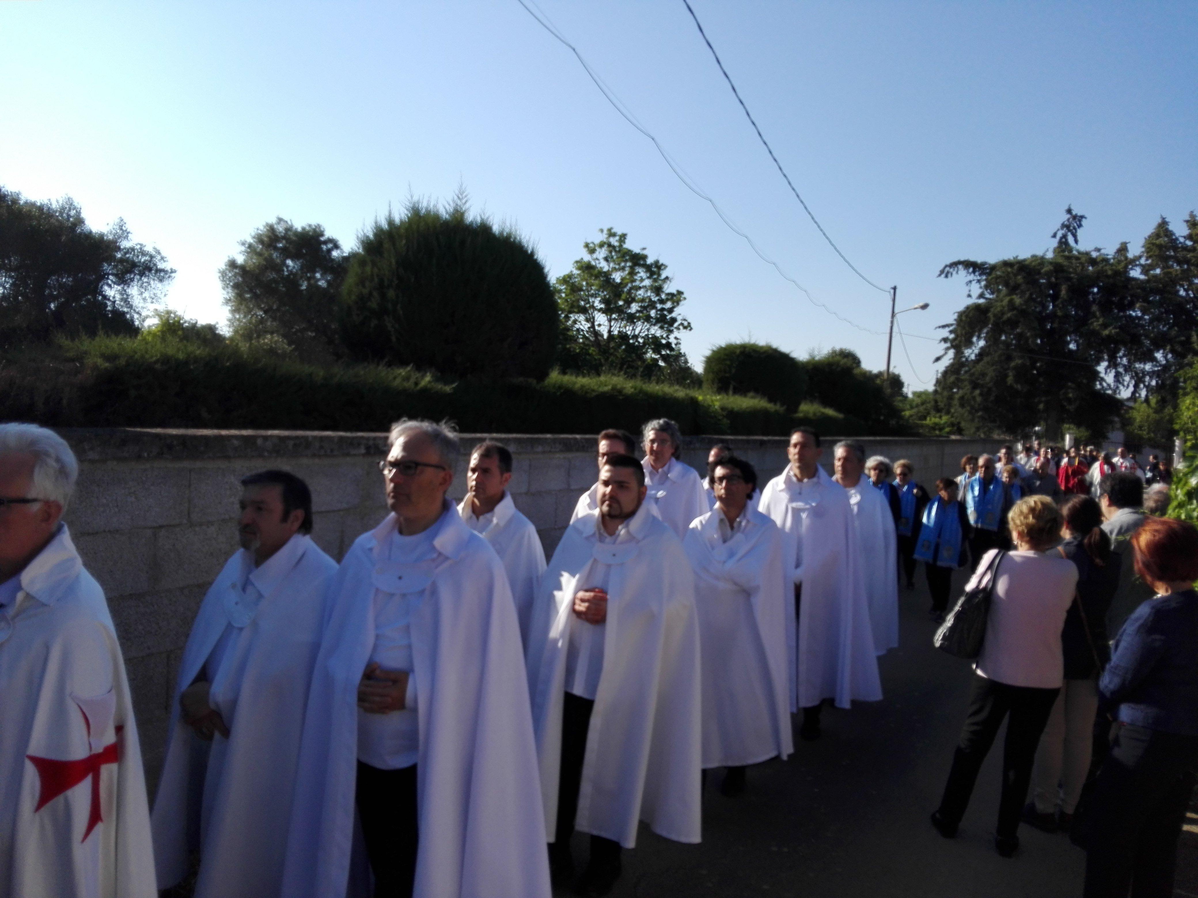 I Templari Cattolici d'Italia partecipano alle celebrazioni in occasione dell'ostensione della reliquia della Santa Sindone a Latiano.