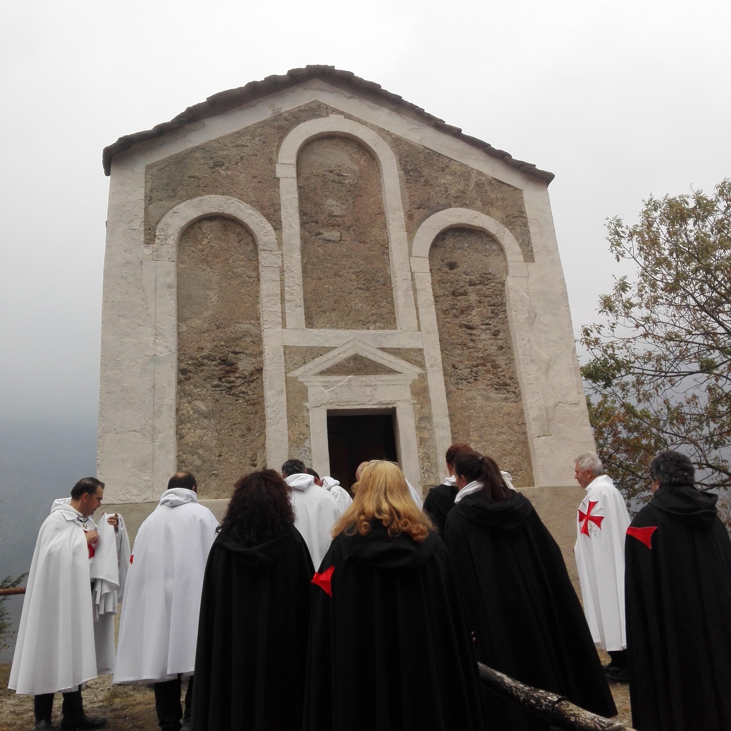 I Templari Cattolici d'Italia partecipano alla consacrazione della Chiesa di San Michele in Val di Susa