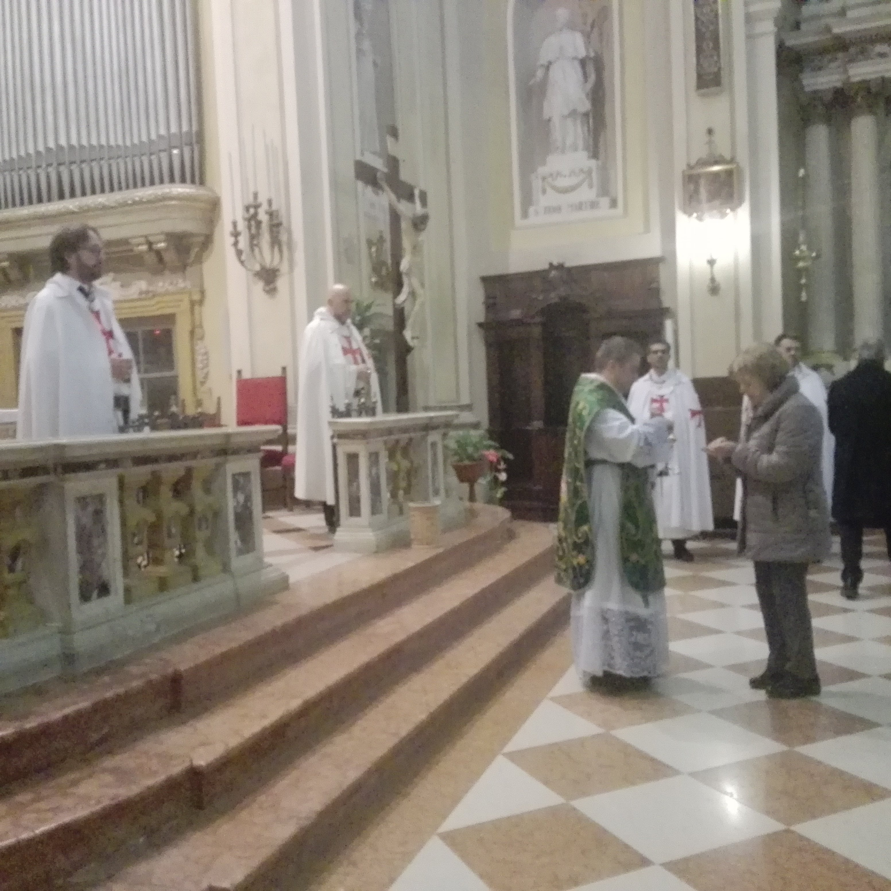 Templari Cattolici d'Italia Messa Verona