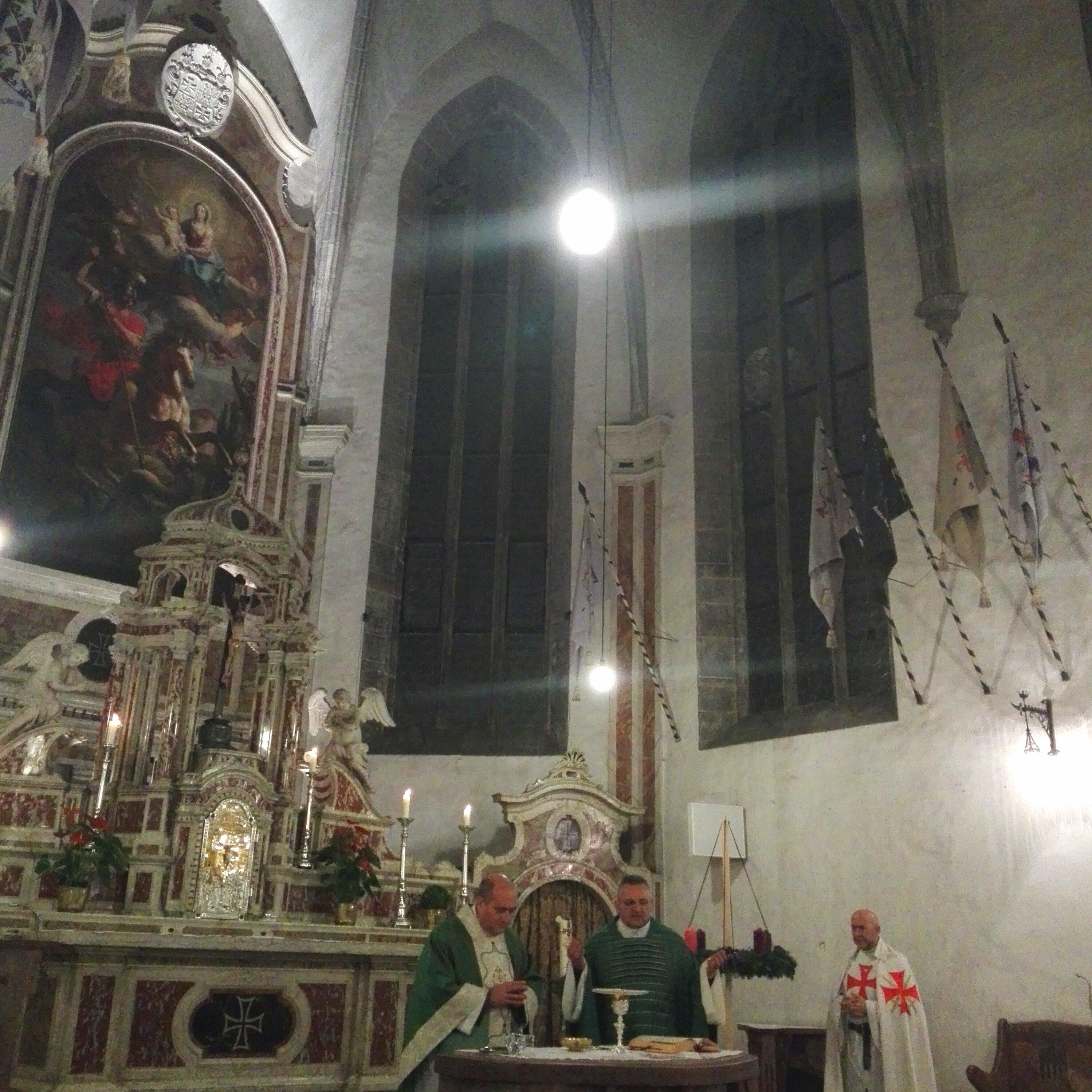 Templari Cattolici d'Italia chiesa St. Georg in Weggestain Bolzano