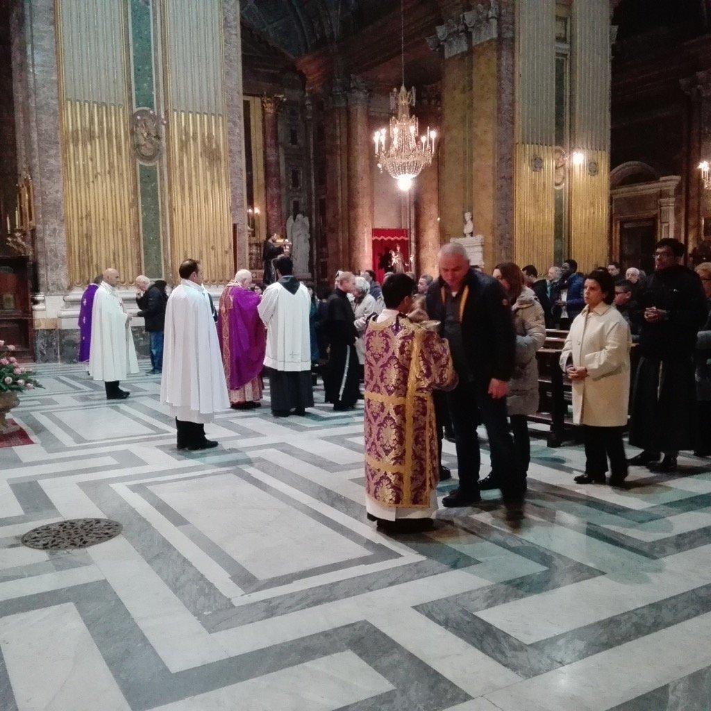 Santa Messa con S.Em. Mons. Mauro Card. Piacenza, Penitenziere Maggiore presso il Tribunale della Penitenzieria Apostolica