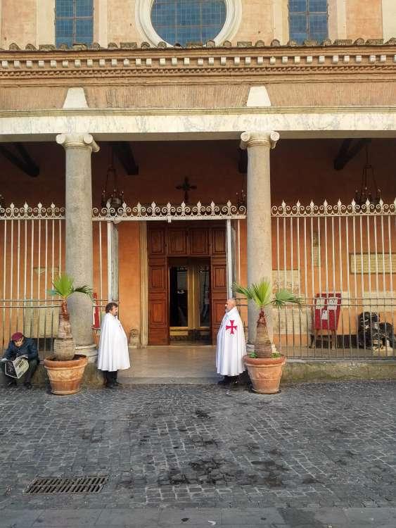 templari presidio roma