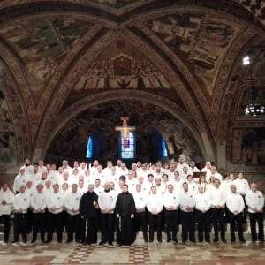 Templari Cattolici d'Italia ad Assisi nella Basilica Inferiore di San Francesco