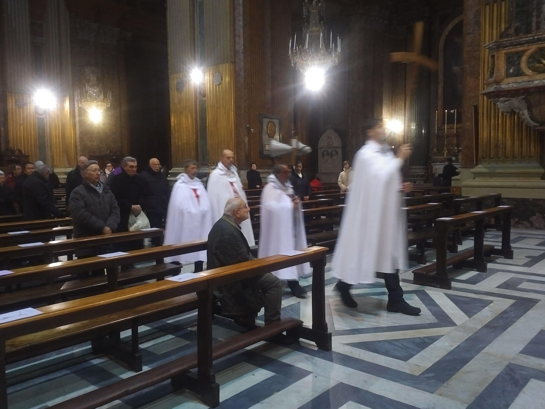 Roma Basilica dei Santi XII Apostoli - Templari foto2
