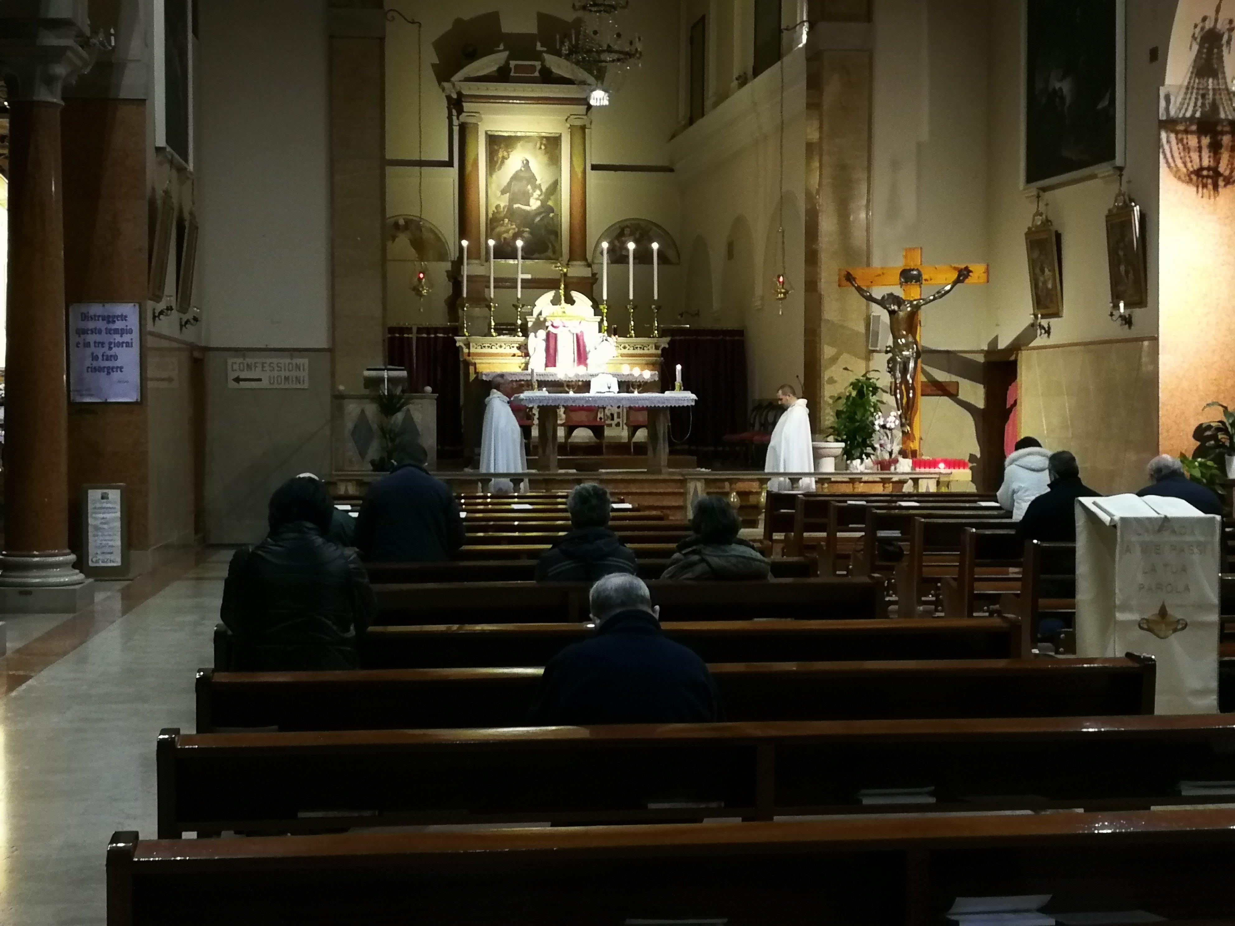 Templari Cattolici d'Italia Santuario della Madonna del Perpetuo Soccorso adorazione