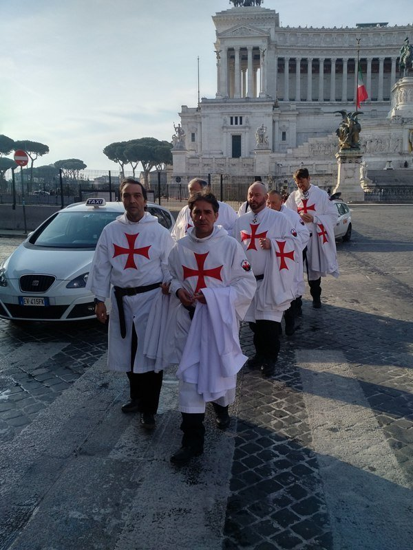 I Templari Cattolici d'Italia prestano servizio settimanale a quattro basiliche in Roma il 24 e 25 marzo
