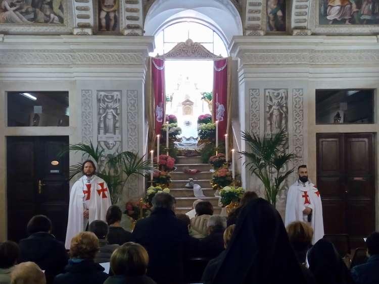templari giovedi santo rodengo