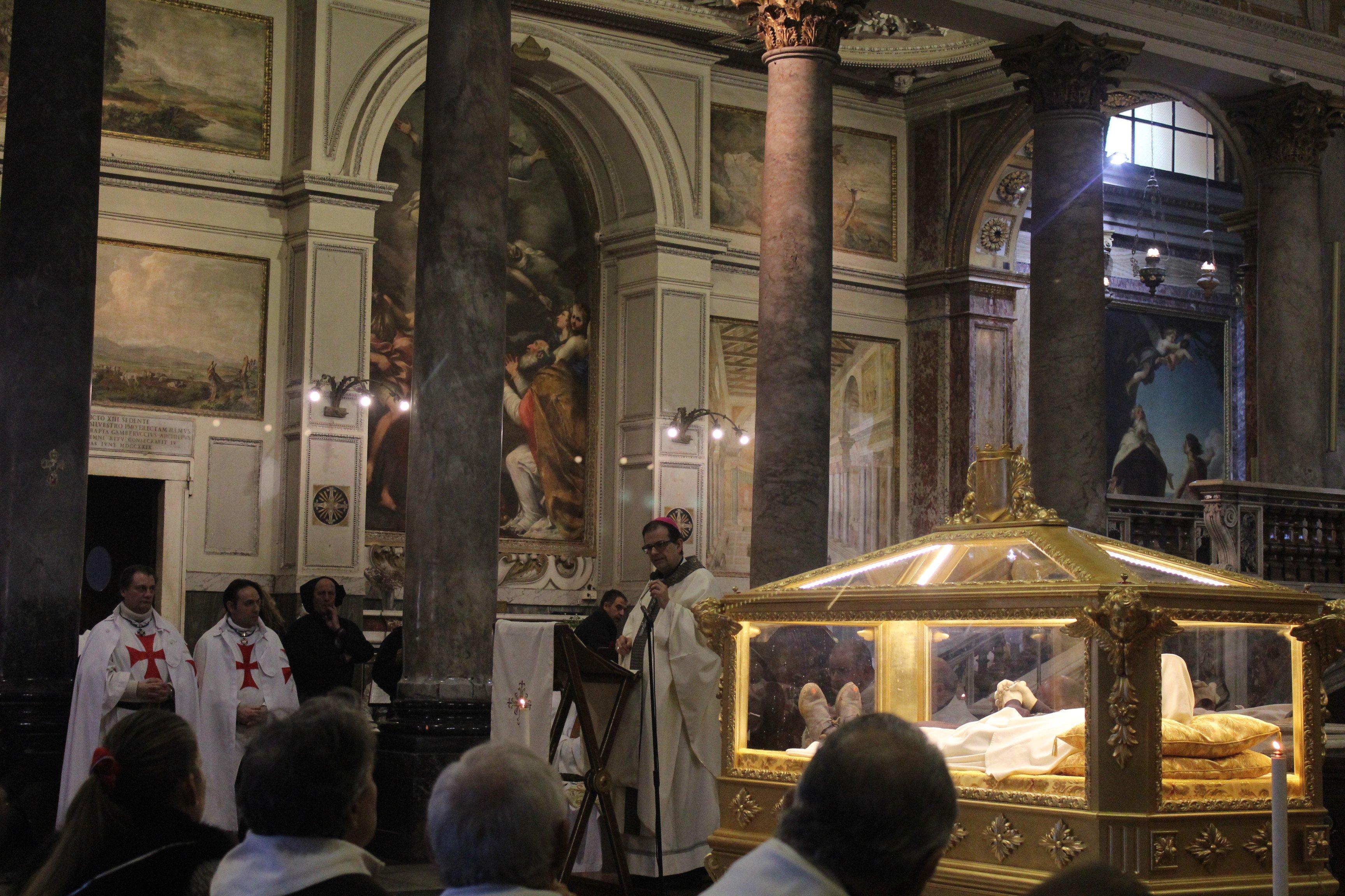 Basilica dei SS. Silvestro e Martino ai Monti - Roma - Templari foto03