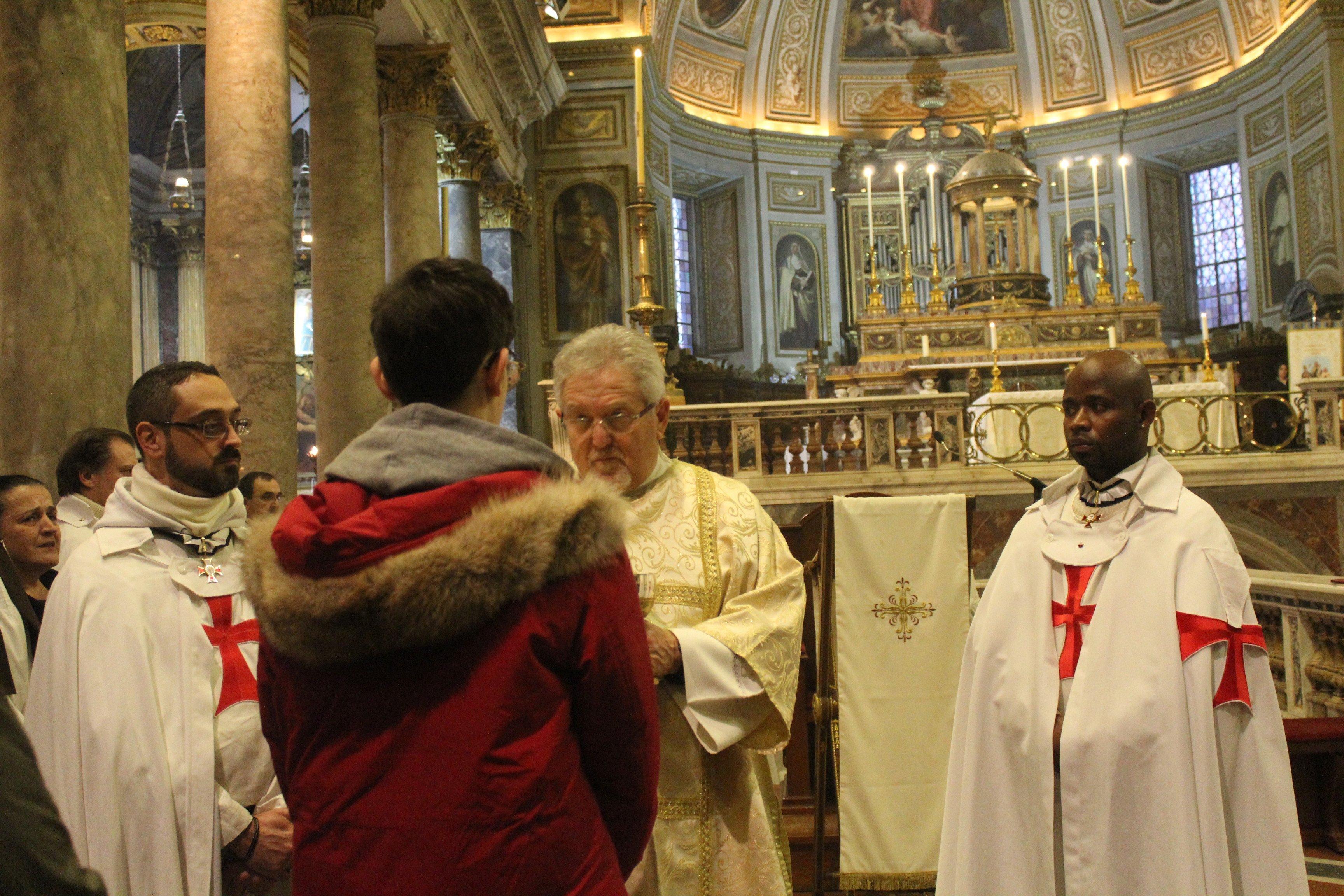Basilica dei SS. Silvestro e Martino ai Monti - Roma - Templari foto06