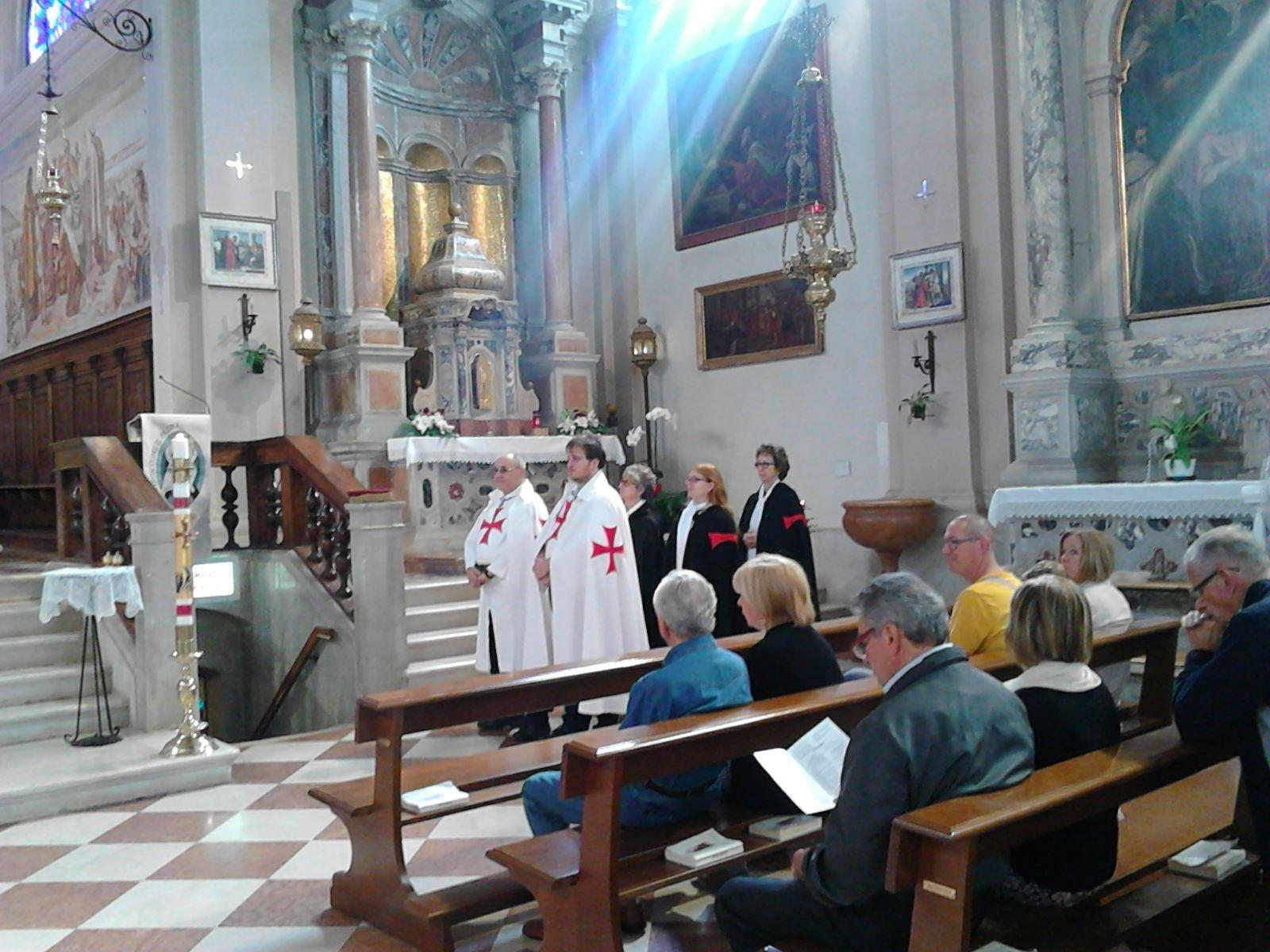 Templari Cattolici d'Italia a Borbiago di Mira, Venezia