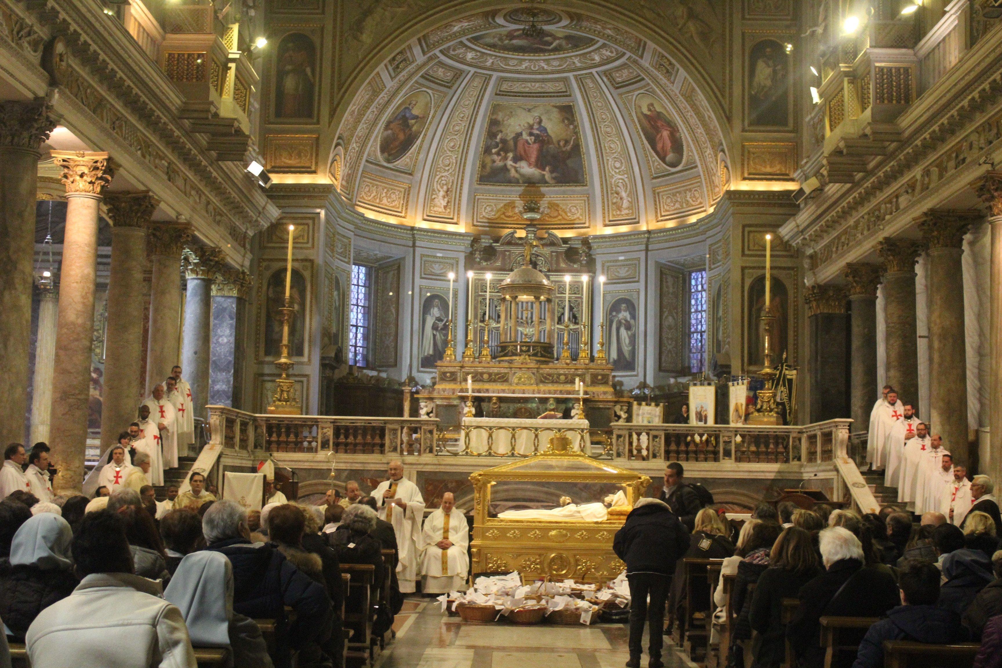 Basilica dei SS. Silvestro e Martino ai Monti - Roma - Templari foto07