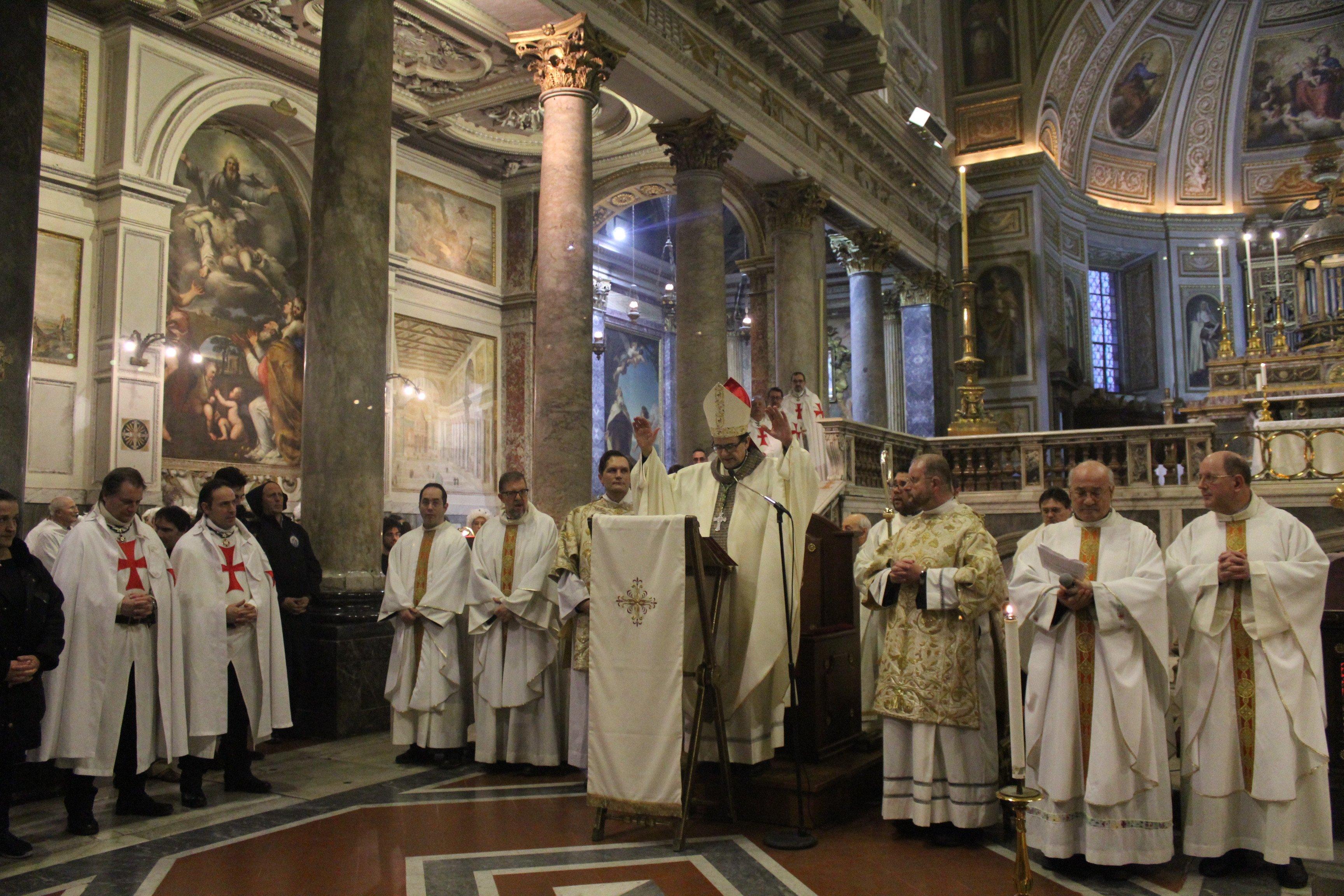 Basilica dei SS. Silvestro e Martino ai Monti - Roma - Templari foto08