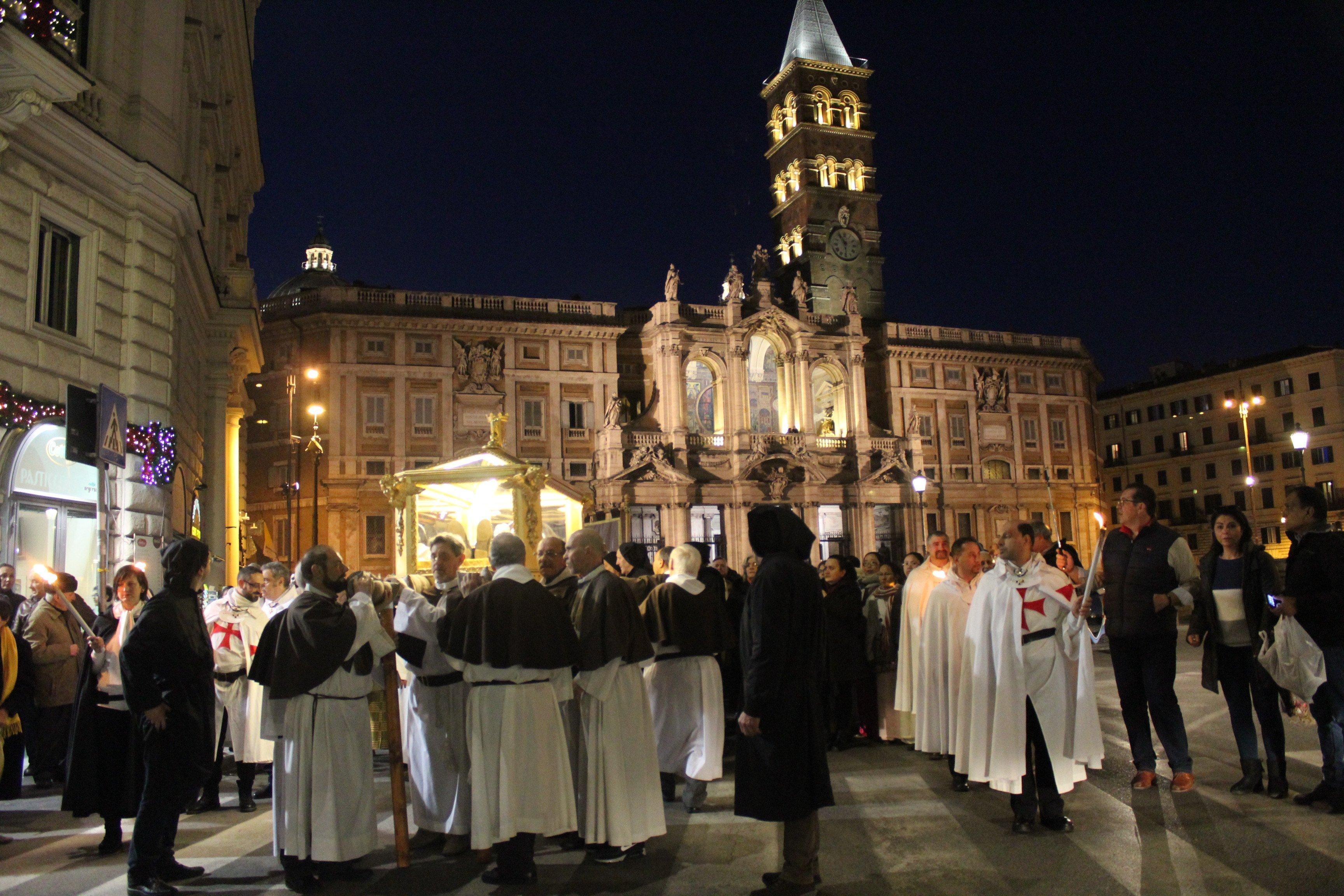 Roma 21 Gennaio 2018 – Basilica dei SS. Silvestro e Martino ai Monti