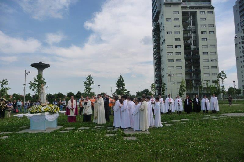 Madonna Pellegrina di Fatima, Milano