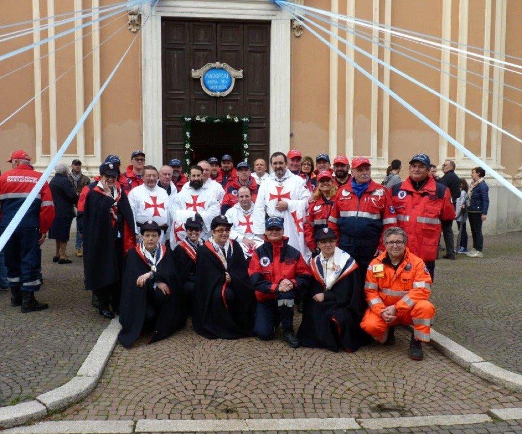 I Templari Cattolici d'Italia partecipano alle celebrazioni per il mese mariano a San Gervasio Bresciano