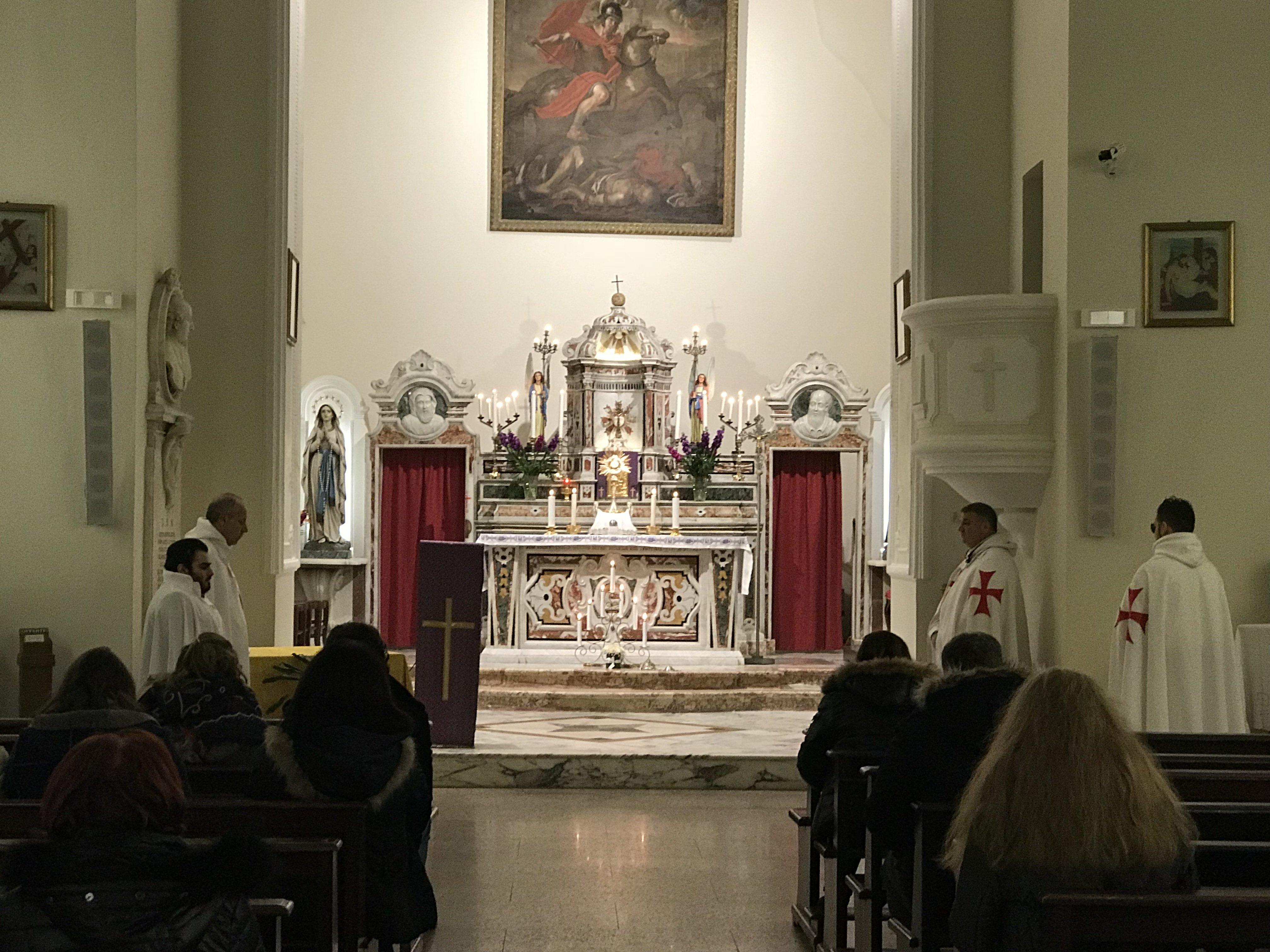 Chiesa Matrice San Nicola - Roccella Jonica - Templari Cattolici foto 05