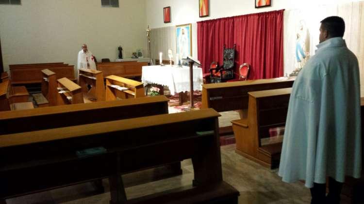 I Templari Cattolici d'Italia partecipano all'Esposizione eucaristica a Trieste.
