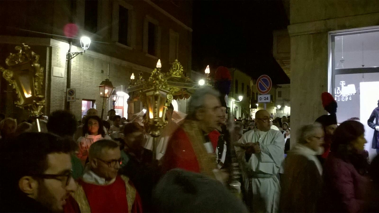 Senigallia - Via Crucis 2018 - Templari Cattolici foto 3