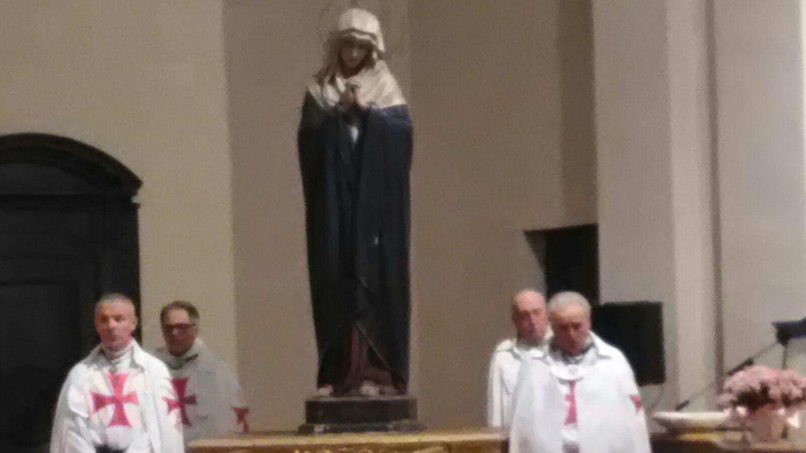 Soragna (PR) Chiesa B.V. del Carmine - Templari Cattolici foto5